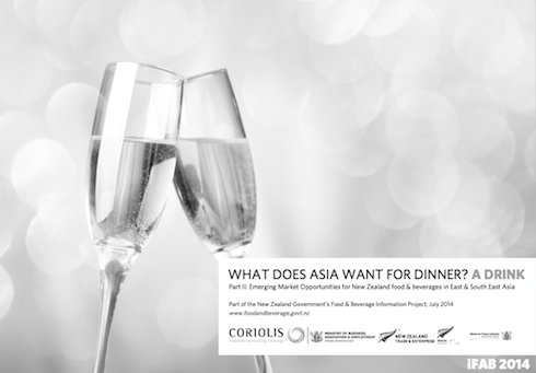 iFAB 2014 What does Asia want for dinner?  A Drink (Part II)